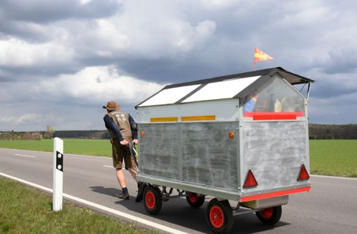 Aussteiger aus Chemnitz läuft nach Skandinavien