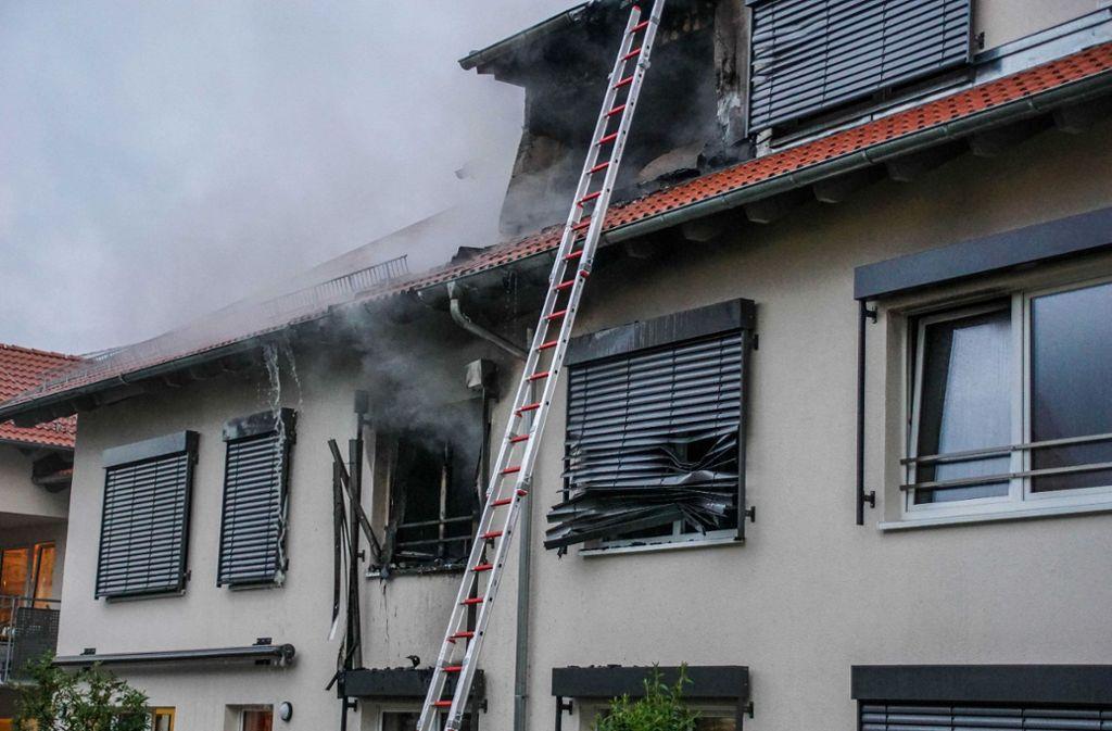 In einem Seniorenheim in Frickenhausen hat es am Donnerstag gebrannt. Foto: SDMG
