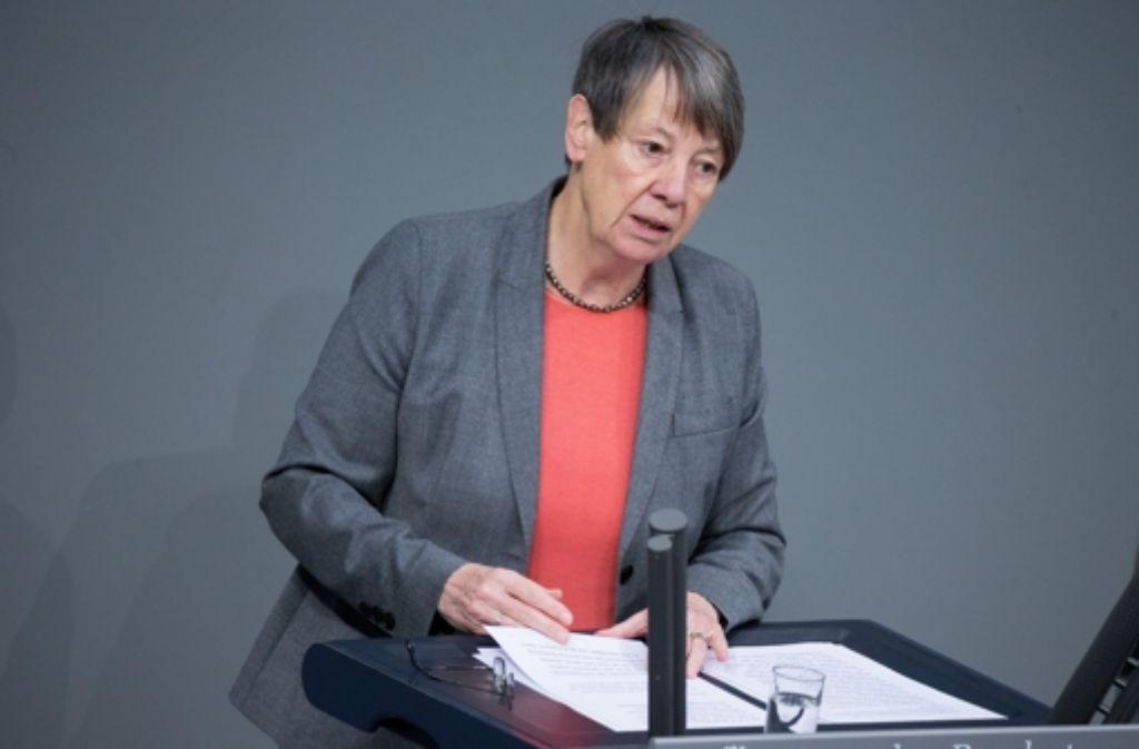 Bundesumweltministerin Barbara Hendricks will sich nicht mit dem kleinsten gemeinsamen Nenner begnügen. Foto: dpa