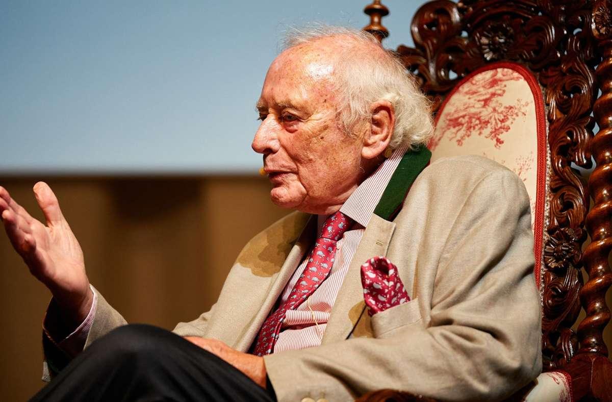 Während der reichste Baden-Württemberger Dieter Schwarz die Öffentlichkeit meidet, zeigt sich Milliardär Reinhold Würth (im Bild) gerne im Scheinwerferlicht. Foto: Steffen Schmid