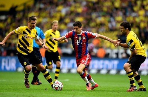 Dortmund siegt gegen Bayern