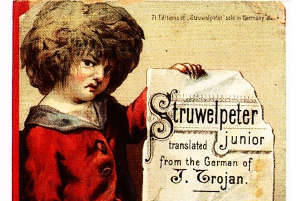 """Der englische """"Struwelpeter"""" von 1893 kostet 480 Euro Foto: Katalog"""