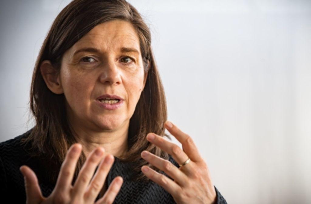 Katrin Göring-Eckardt führt die Grünen-Fraktion. Foto: Lichtgut/Achim Zweygarth
