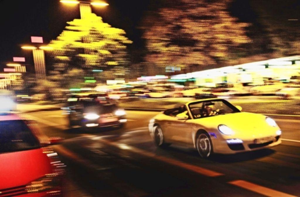 Der nächtliche Verkehr auf der Theo soll langsamer werden. Foto: