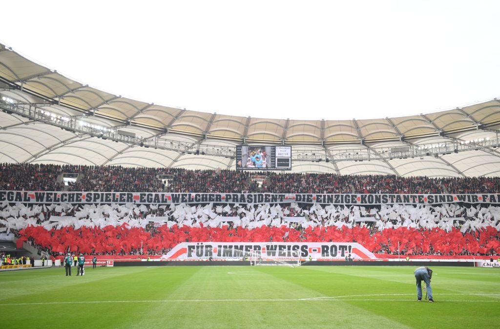 VfB-Fans dürfen sich auch virtuell auf ihre Heimspielstätte freuen: FIFA 20 nimmt die Mercedes-Benz Arena ins Spiel mit auf. Foto: dpa
