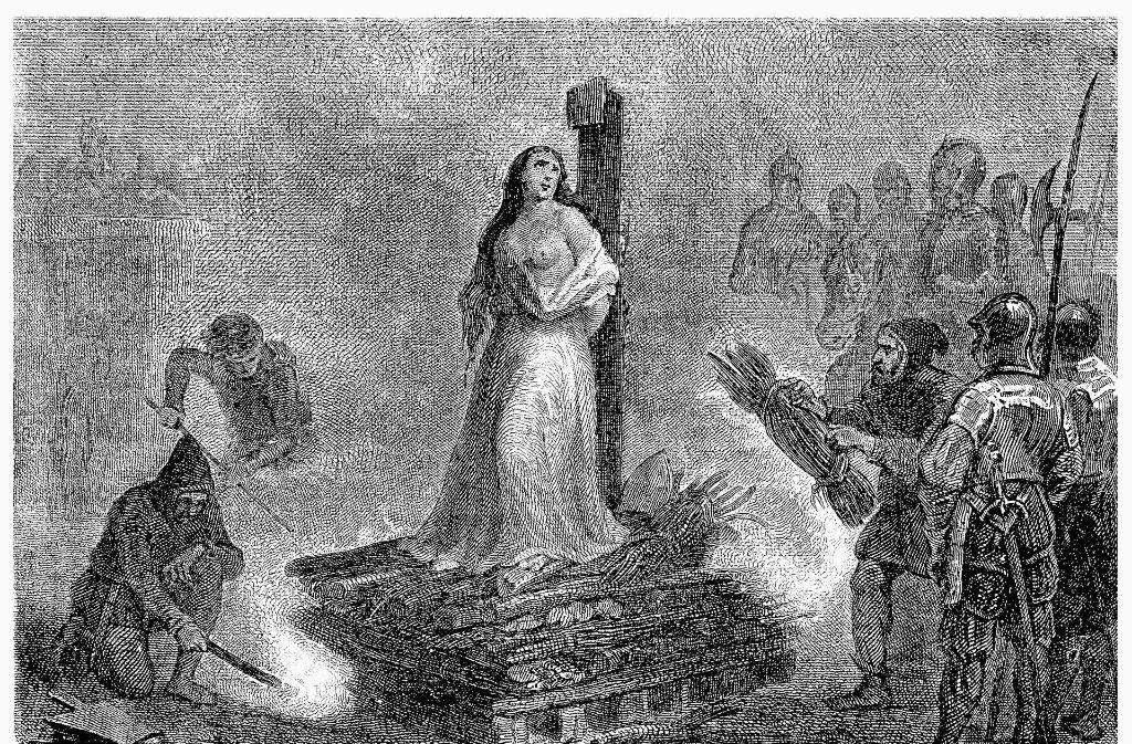 Hexenverbrennung Im Mittelalter