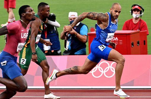 Bolt-Nachfolger  Lamont Marcell Jacobs belohnt sich mit neuem  Tattoo