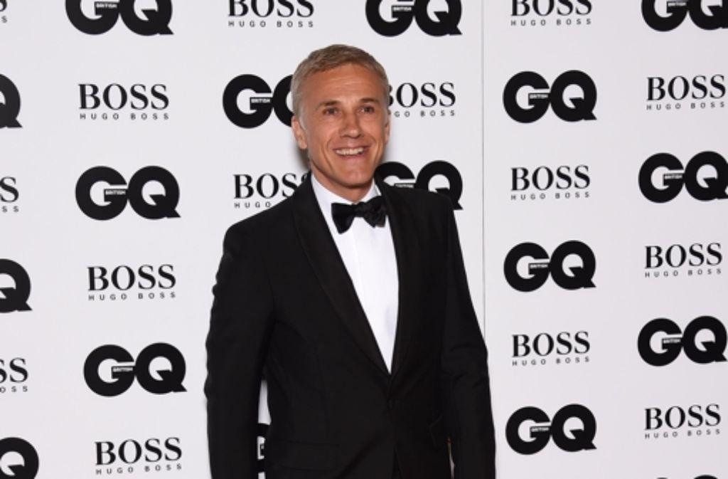 Christoph Waltz zeigte sich bei der Gala am Dienstagabend in London neben vielen weiteren Prominenten auf dem roten Teppich. Foto: Getty Images