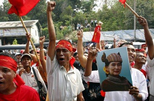 Suu Kyi gewinnt Parlamentssitz bei Nachwahlen