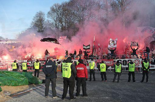 Nur die VfB-Fans fallen aus der Rolle