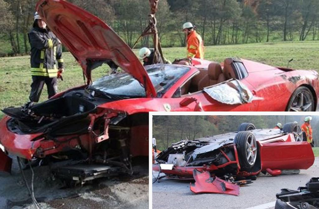 Bei Bad Wildbad ereignete sich ein schlimmer Unfall. Foto: Kreisfeuerwehrverband Calw