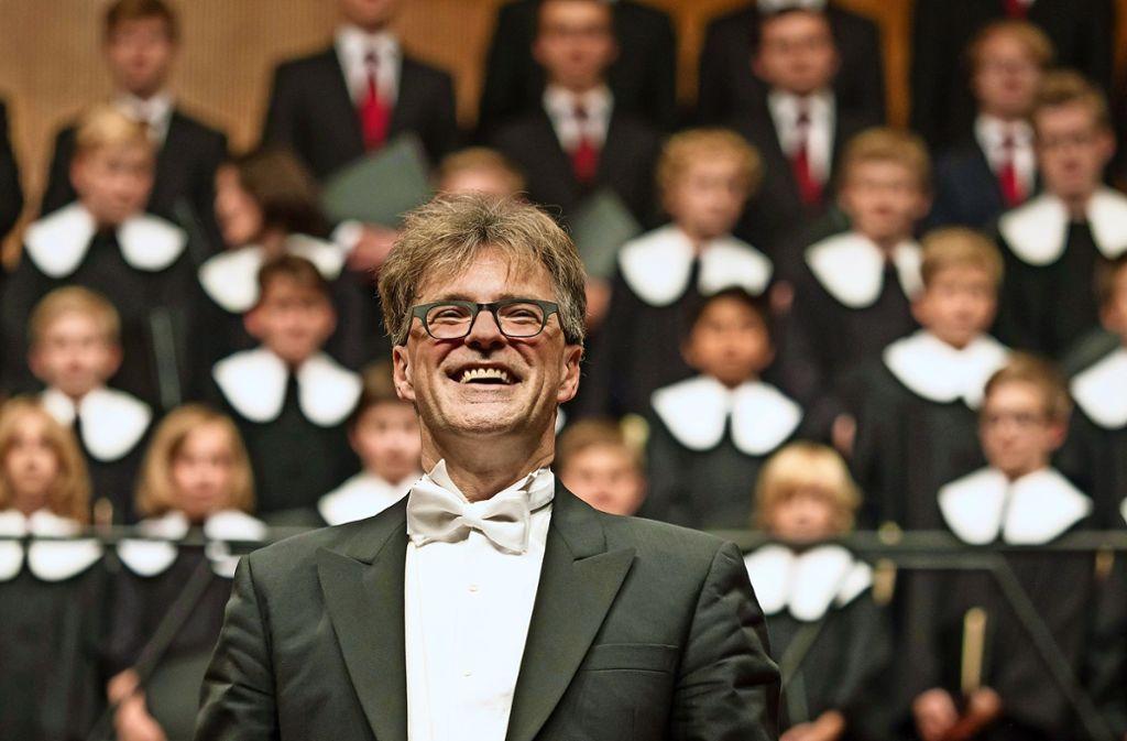 Rainer Johannes Homburg, Stuttgarter Hymnus-Chorknaben Foto: Holger Schneider