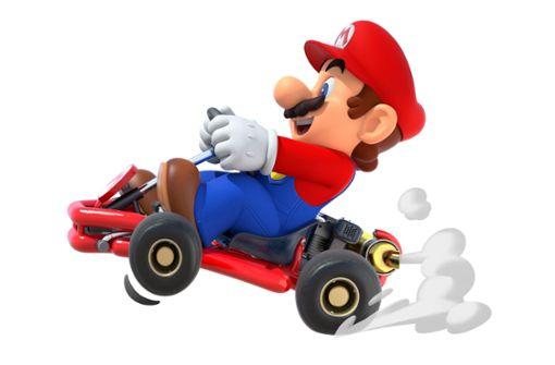 Mario Kart gibt's nun auch fürs Smartphone