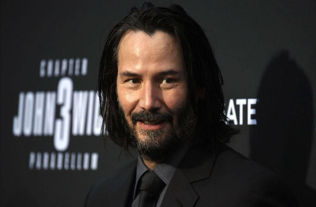 Keanu Reeves beim Special Screening. Foto: AFP