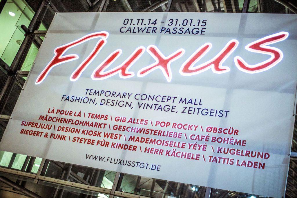 Die Fluxus-Einkaufsmeile bleibt Stuttgart weiter erhalten. Foto: www.7aktuell.de | Robert Dyhringer