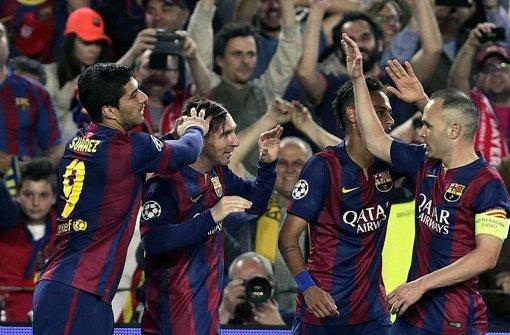 Bayern verliert 0:3 in Barcelona