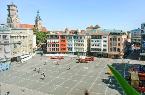 Marktplatz wird nun umgestaltet