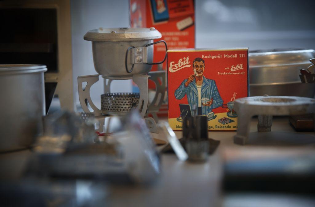 Der Esbit-Brennwürfel ist Erich Schumms folgenreichste Erfindung. Foto: Gottfried Stoppel