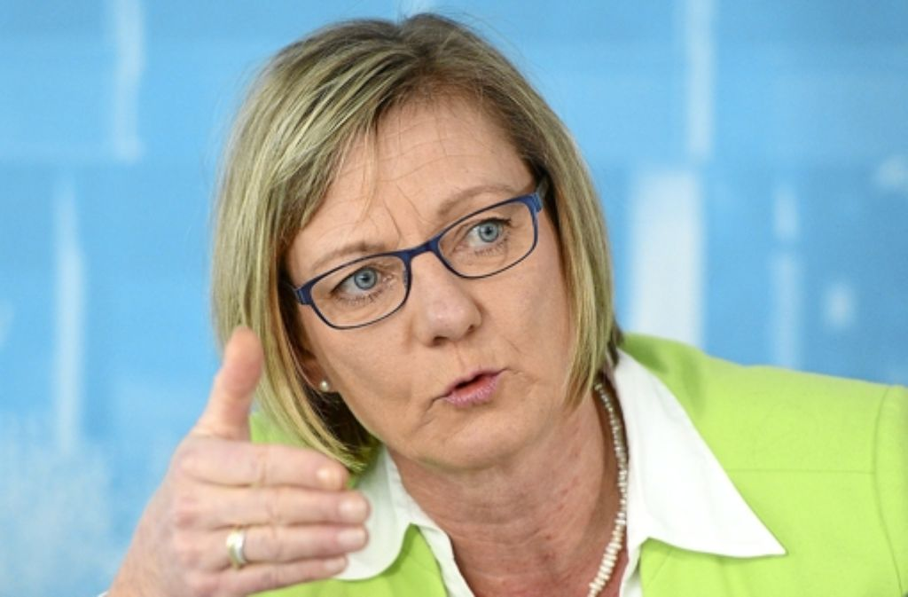 Grünen-Fraktionschefin Edith Sitzmann  Foto: dpa