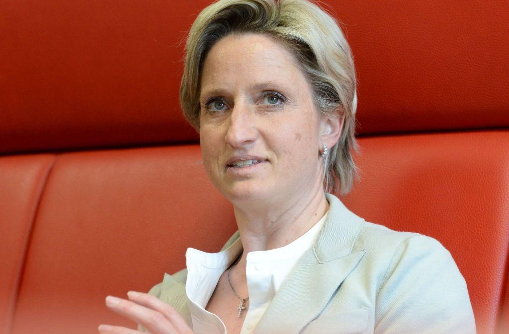 Nicole Hoffmeister-Kraut, CDU, sieht keine Hemmnisse mehr für die Förderung von Sozialwohnungen. Foto: dpa