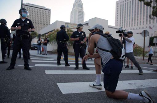 Ausschreitungen bei neuen Protesten nach Tod eines Schwarzen