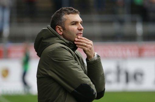 Stuttgarter Kickers siegen gegen Rostock