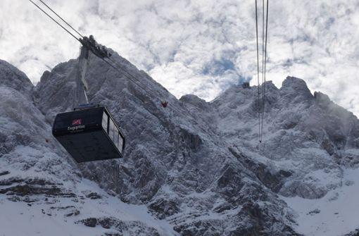 Kälterekord auf Deutschlands höchstem Berg