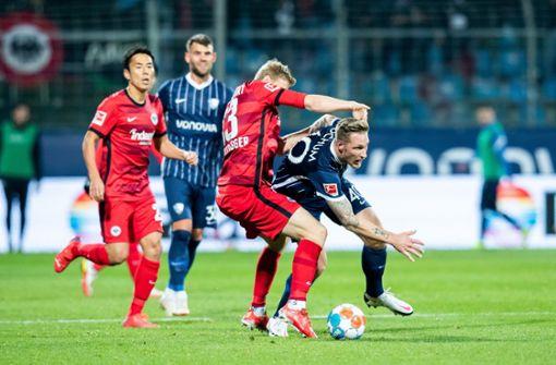 Frankfurt von Bochum bei 0:2 überrumpelt