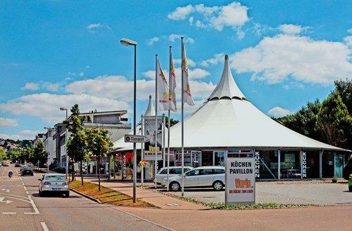 Zeltpavillon von Frei Otto steht zum Verkauf