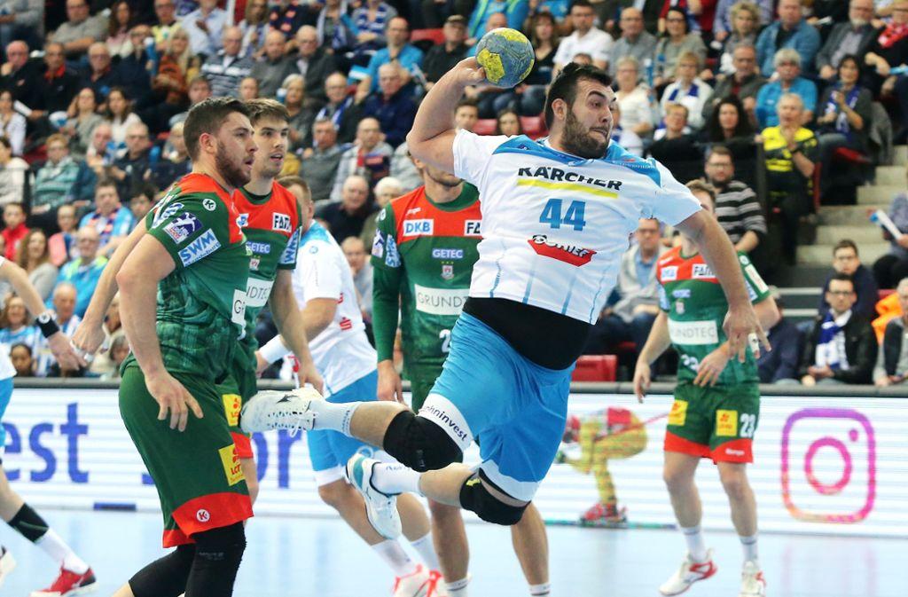 Der Handball ruht derzeit – zumindest bis September. Foto: Baumann