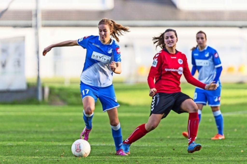 Franziska Harsch (l.) will ihre Leistung auf hohem Niveau stabilisieren und so den Sprung in die erste Liga schaffen. Foto: Uwe Grün