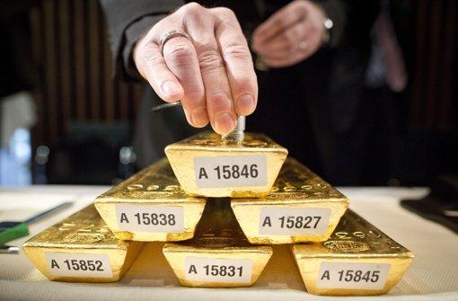 Bundesbank holt Gold heim
