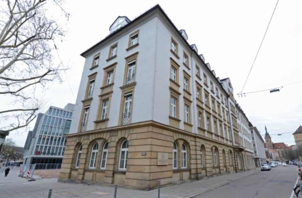 Der Plan für die künftige Nutzung des ehemaligen Gestapo-Hauptquartiers Hotel Silber in Stuttgart steht. (Archivfoto) Foto: dpa
