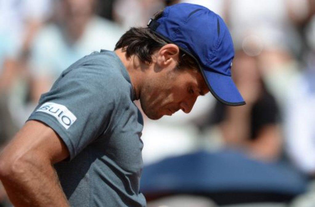Tommy Haas hat das Halbfinale beim Stuttgarter Tennisturnier überraschend verpasst. Foto: dpa