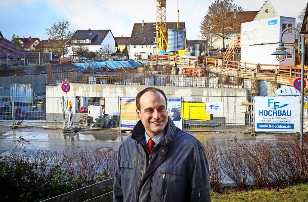 """""""Die Situation ist schwierig"""" –  Mötzingens Bürgermeister Marcel Hagenlocher sucht für die Gemeinde einen Hausarzt. Foto: factum"""