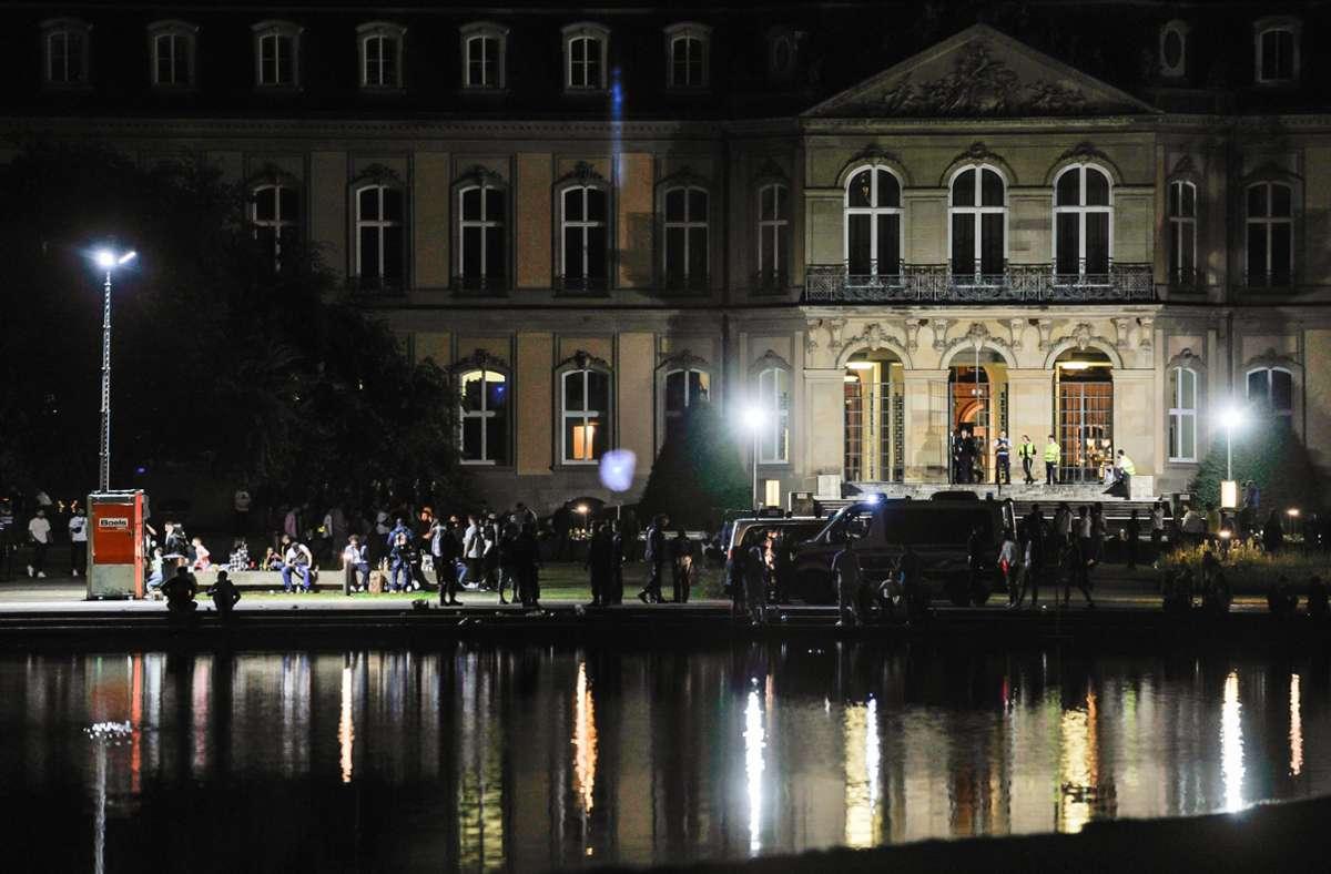 Weiterhin ist die Polizei verstärkt an den Wochenenden im Einsatz. Foto: Lichtgut/Max Kovalenko (Archiv)