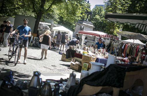 Kienzle kämpft um die Eröffnung des Flohmarkts