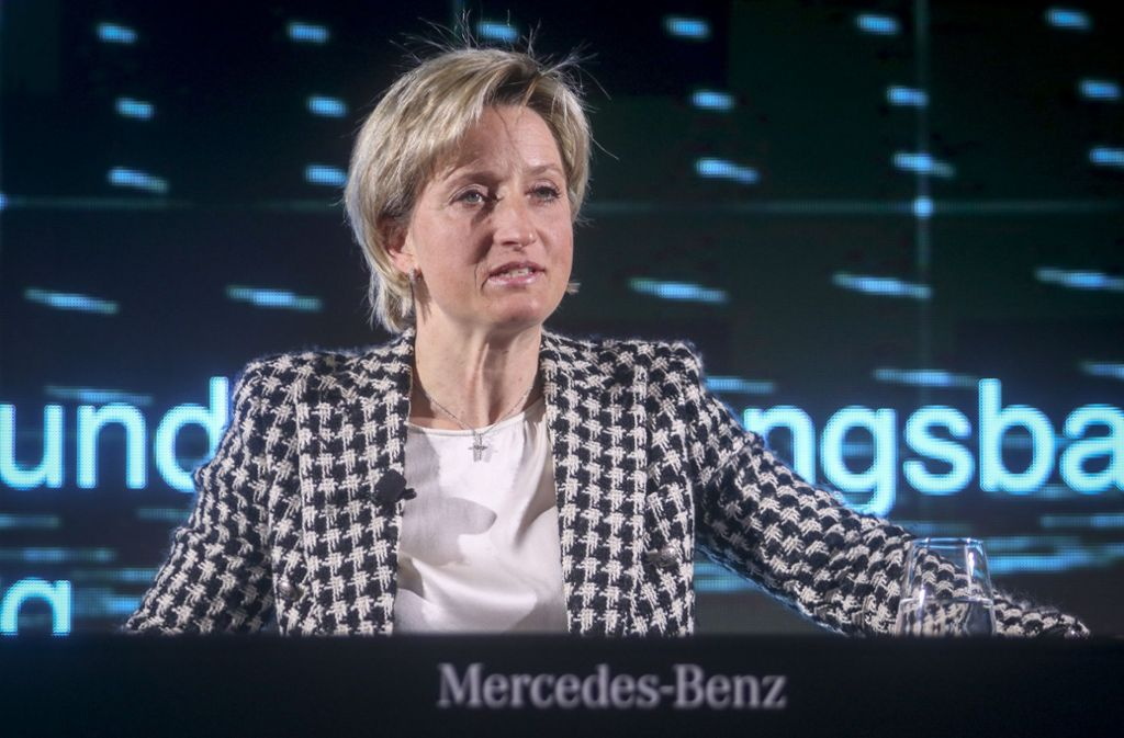 Sie hat die Aufsicht über die Prüfverbände: Ministerin Nicole Hoffmeister-Kraut, CDU Foto: factum/Granville