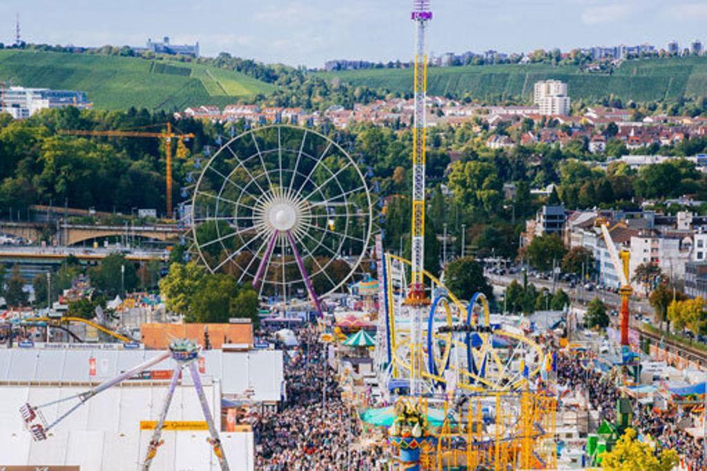 Jedes Jahr im Herbst ein Besuchermagnet: das Cannstatter Volksfest. Foto: in.Stuttgart/Thomas Niedermüller