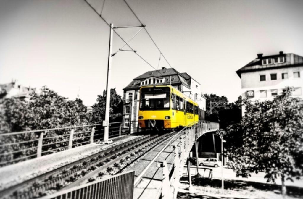 Die Zacke ist eines der Motive in dem Kalender über Stuttgart-Süd. Foto: Emmanuel Zouboulis