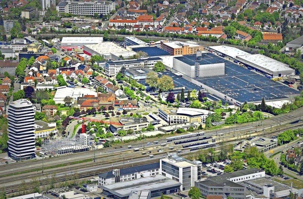 An den Bodenbelagsproduzenten DLW wird bald nur noch das nach ihm benannte Areal im Bahnbogen erinnern. Foto: Werner Kuhnle