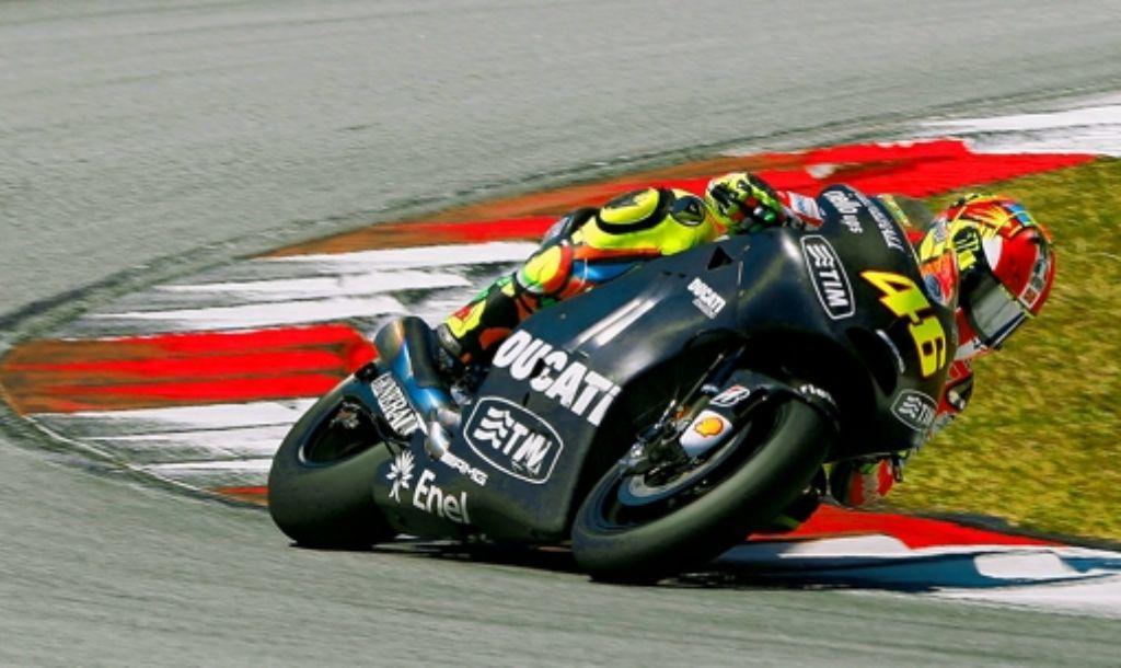 Der italienische Motorradhersteller Ducati war lange ein Sanierungsfall. Im vergangenen Jahr jedoch fuhr das Unternehmen in die schwarzen Zahlen. Foto: dapd