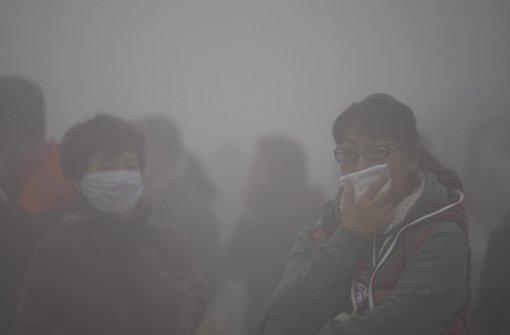 Luftverschmutzung fordert jährlich Millionen Tote