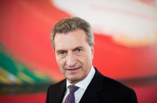 Oettinger schadet sich selbst am meisten