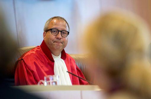 Der oberste Richter antwortet