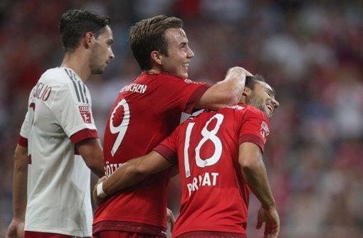 FC Bayern gewinnt gegen Milan und spielt um Trophäe