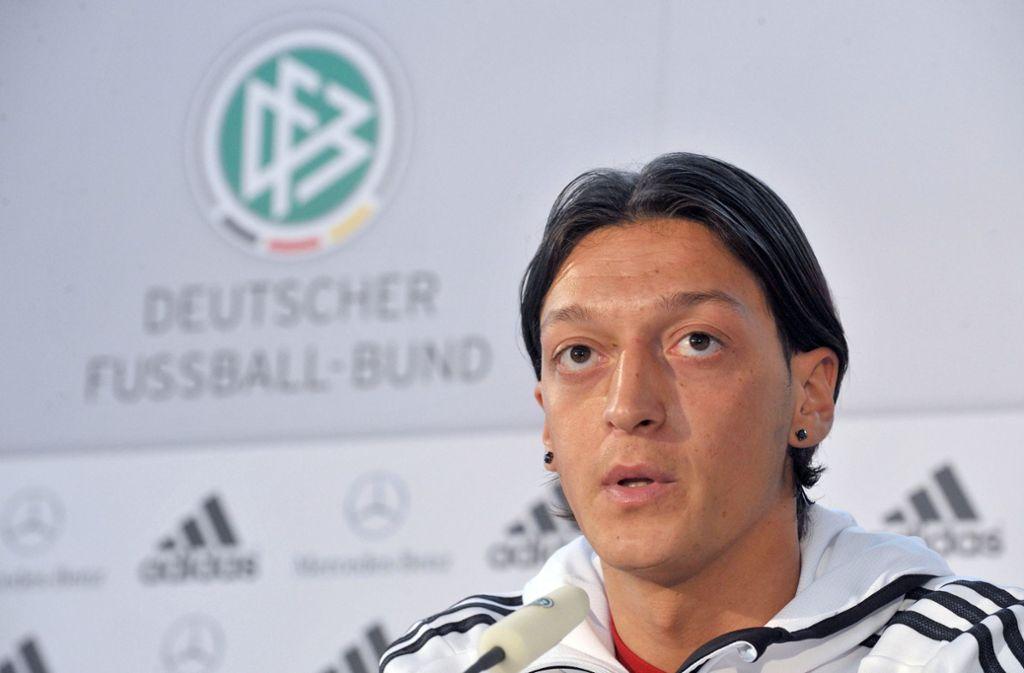 Mesut Özil sieht sich auch als Opfer von Rassismus. Foto: dpa