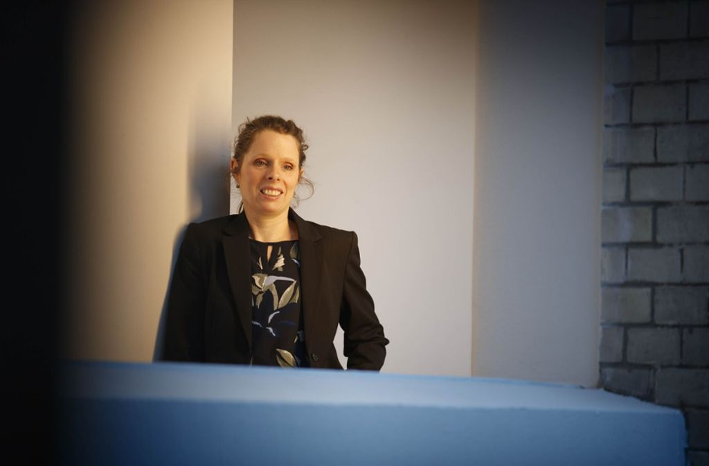 Die Kunsthistorikerin Stefanie Grünes möchte Familien ansprechen. Foto: Gottfried Stoppel