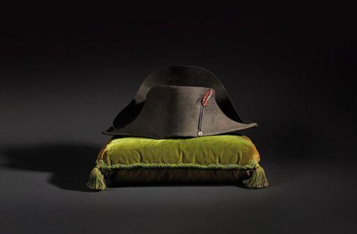 Hut von Napoleon für 350 000 Euro versteigert
