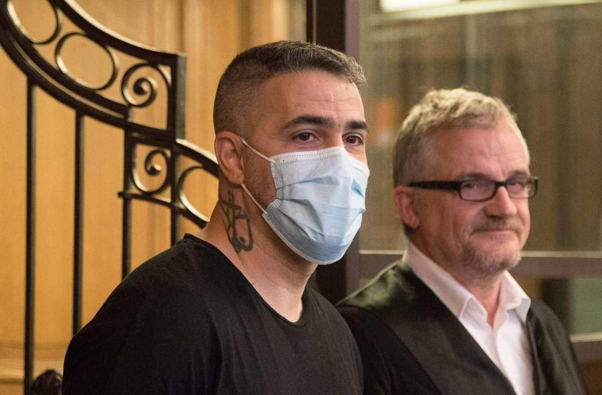 Im Prozess gegen einen Berliner Clanchef und seine Brüder sagt Rapper Bushido aus. Foto: AFP/STR
